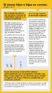 Guía ilustrada, si tienes hijos e hijas en común.
