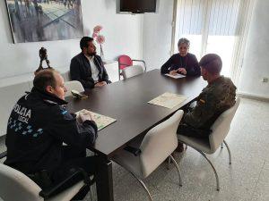 Mesa de Coordinación Policial del Ayuntamiento de Calasparra