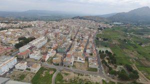 Vista aérea de Calasparra.