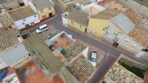 Imagen de las azoteas y terrazas de Calasparra.