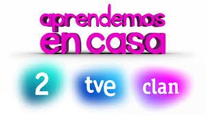 Logos de la 2, TVE y CLAN