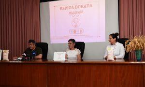 """Rueda de prensa presentación del distintivo """"Espiga Dorada"""""""