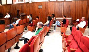 Localización de los concejales, en el primer pleno realizado tras el Estado de Alarma.